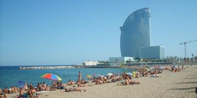barcelona-stranden