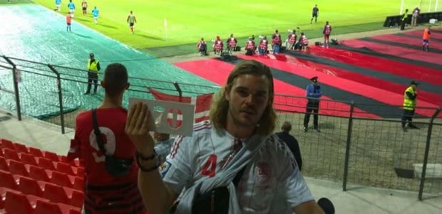 Kamp 70: Albanien-Danmark, Elbasan Arena