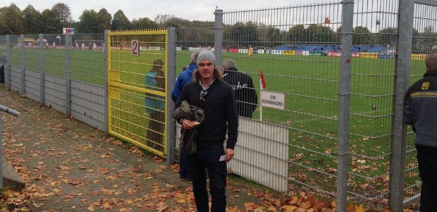 Kamp 82: Flensburg-Werder Bremen II, Flensburg Stadion