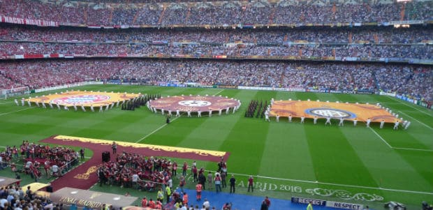 Champions League fodboldrejse